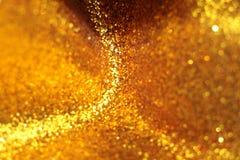 Schitterend Gouden Document Stock Foto