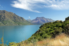 Schitterend landschap van Nieuw Zeeland Stock Afbeelding