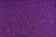 Schitterend lilac document blad Violette textuurachtergrond Fonkelend purper patroon Royalty-vrije Stock Afbeelding