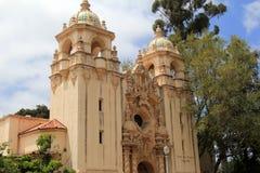 Schitterend voorbeeld van vakmanschap in architectuur bij Balboapark, San Diego, Californië, 2016 stock foto