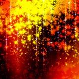 Schitterende achtergrond met sterren Vector Illustratie
