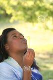 Schitterende Afrikaanse Amerikaanse Vrouw, Portret Stock Afbeelding