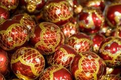 Schitterende ballen royalty-vrije stock afbeelding