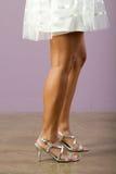 Schitterende benen royalty-vrije stock afbeeldingen