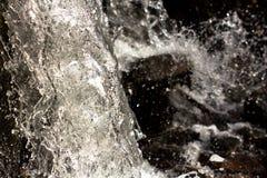 Schitterende Bergwaterval Royalty-vrije Stock Foto