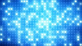 Schitterende blauwe de muurachtergrond van de mozaïekdisco royalty-vrije illustratie