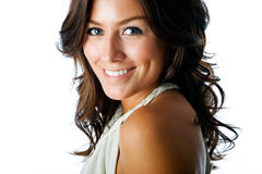 Schitterende brunette Royalty-vrije Stock Foto