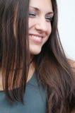 Schitterende brunette 5 royalty-vrije stock fotografie