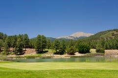 Schitterende golfcursus in Arizona Royalty-vrije Stock Fotografie