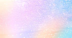 Schitterende gradiëntachtergrond met hologrameffect en magisch l Royalty-vrije Stock Afbeeldingen