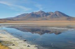 Schitterende landschappen van Sur Lipez, Zuid-Bolivië Royalty-vrije Stock Afbeeldingen
