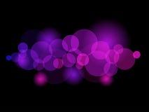 Schitterende lichten vector illustratie