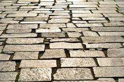 Schitterende steenbestrating Stock Foto
