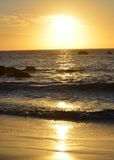 Schitterende sunsets Royalty-vrije Stock Afbeeldingen