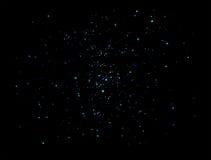 Schitterende Vierkante deeltjes Stock Fotografie