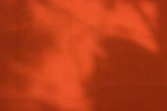 Schitterende warme rode muur Stock Afbeelding