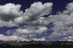 Schitterende wolken Royalty-vrije Stock Fotografie