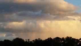 Schitterende wolken Stock Foto