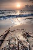 Schitterende zonsondergang Royalty-vrije Stock Foto