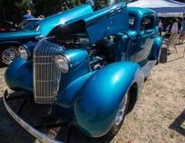 Schitterender Blauw Stock Foto's