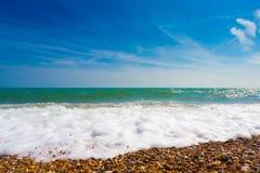 Schiuma del mare Fotografia Stock