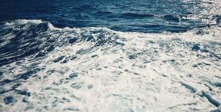 Schiuma del mare Immagini Stock Libere da Diritti