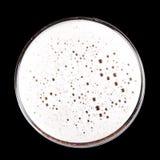Schiuma della birra Immagini Stock