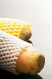 Schiuma della frutta di protezione Fotografia Stock