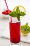 Schizandra chinensis drink. Royalty Free Stock Photography