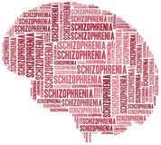 Schizophrenia or mental disease concept. Stock Photography