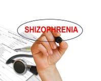 schizophrenie Lizenzfreies Stockfoto