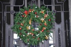 Schizzi di inverno nelle feste del nuovo anno Fotografia Stock