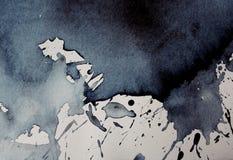 Schizzi l'acquerello Fotografia Stock Libera da Diritti