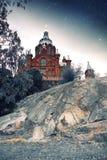 Schizzi mistici dei paesi nordici Fotografia Stock Libera da Diritti