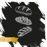 Schizzo dell'illustrazione di vettore - forno Immagini Stock Libere da Diritti