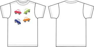 Schizzo dell'indumento della maglietta della cima di Tisha per industria della moda illustrazione di stock