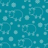 Schizzo delle pecore Fotografie Stock