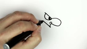 Schizzo dello scarabocchio del fumetto