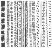 Schizzo disegnato a mano di vettore dell'illustrazione semplice del modello su fondo bianco illustrazione di stock