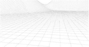 Schizzo geometrico astratto, illustrazione Immagini Stock Libere da Diritti