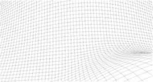 Schizzo geometrico astratto, illustrazione Immagini Stock