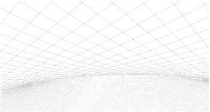 Schizzo geometrico astratto, illustrazione Fotografia Stock Libera da Diritti
