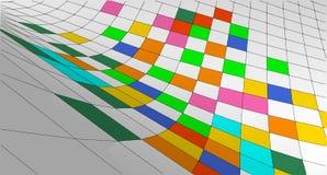 Schizzo geometrico astratto, illustrazione Fotografie Stock