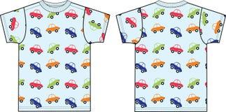 Schizzo superiore dell'indumento della maglietta del T per industria della moda illustrazione vettoriale