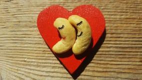 Schläfrige Erdnüsse Lizenzfreies Stockbild