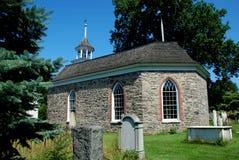 Schläfrige Höhle, NY: Alte holländische Kirche Lizenzfreies Stockbild