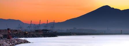 Schläfriges Neapel Stockbild