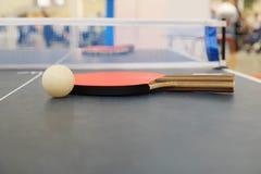 Schläger für Tennis Lizenzfreie Stockfotos