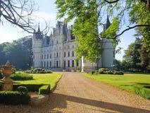 Schlösser auf der Loire Lizenzfreies Stockfoto