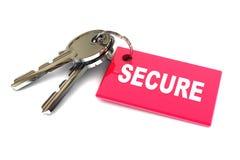 Schlüssel der Sicherheit Lizenzfreie Stockfotos